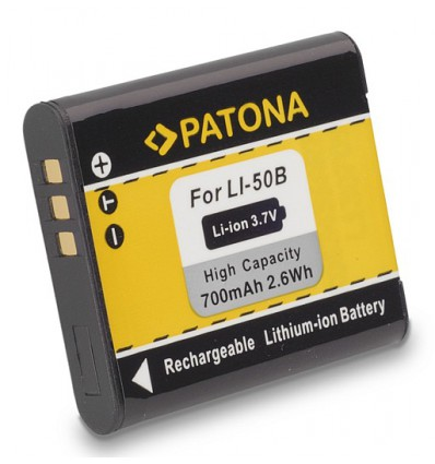 Аккумулятор LI-50B PATONA