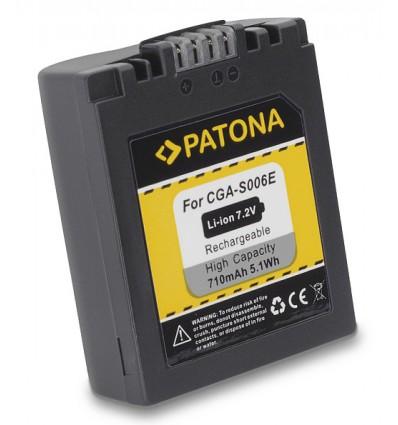 Аккумулятор CGA-S006 PATONA