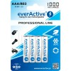 Аккумуляторы 4x EverActive R3/AAA Ni-MH 1000 MAh Ready To Use