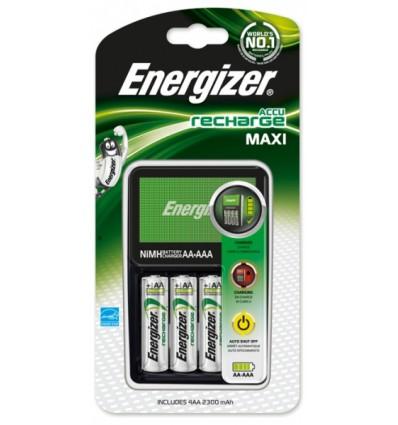 Зарядное устройство Energizer Maxi + 4 X R6/AA 2300 MAh