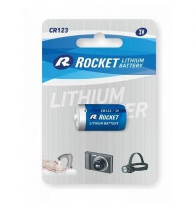 Батарейка литиевая Rocket CR123