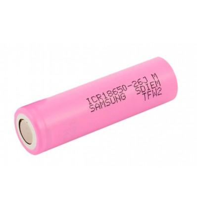 Аккумулятор 18650 Li-Ion Samsung ICR18650-26JM 2600mAh