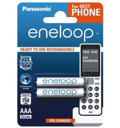 Аккумуляторы 2 X Panasonic Eneloop R03 AAA 800mAh BK-4MCCE/2BE