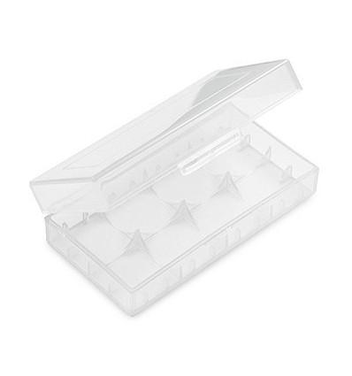 Коробка (пластик) для хранения 2-х аккумуляторов 18650