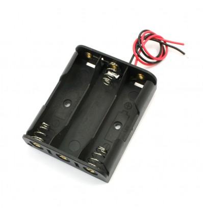 Корпус (пластик) батареи на 3 аккумулятора R6/AA