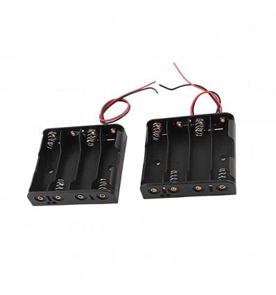 Корпус (пластик) батареи на 4 аккумулятора R6/AA
