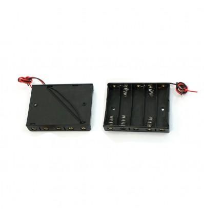 Корпус (пластик) батареи на 5 аккумуляторов R6/AA
