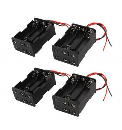 Корпус (пластик) батареи на 6 аккумуляторов R6/AA