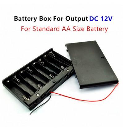 Корпус (пластик) батареи на 8 аккумуляторов R6/AA