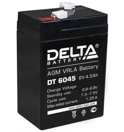 Аккумулятор свинцово-кислотный Delta DT 6045 6V 4.5Ah