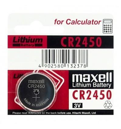 Батарейка литиевая Maxell CR2450