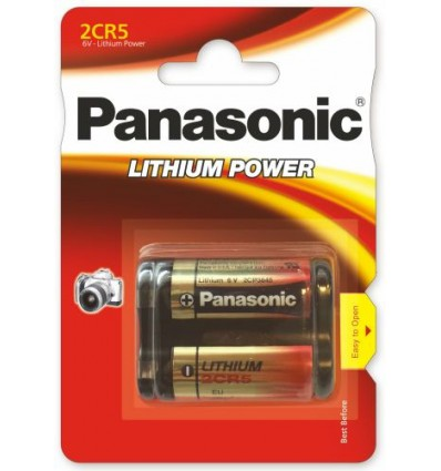 Батарейка литиевая Panasonic 2CR5