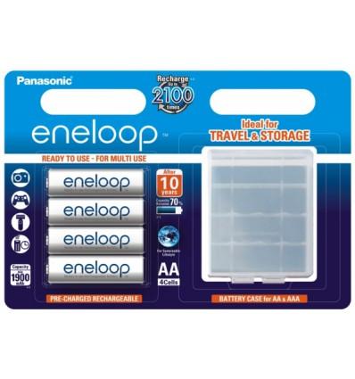 Аккумуляторы 4 X Panasonic Eneloop R6 AA 2000mAh (Blister+Box)