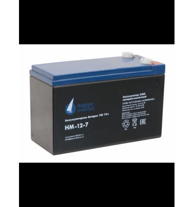 HM-12-7 cвинцово-кислотная аккумуляторная батарея 12 В / 7 Ач