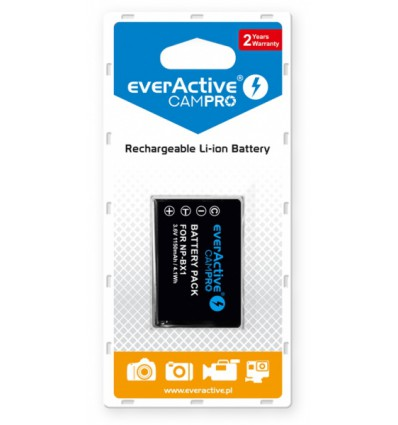 Аккумулятор NP-BX1 EverActive CamPro