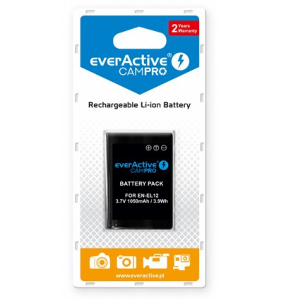 Аккумулятор EN-EL12 EverActive CamPro