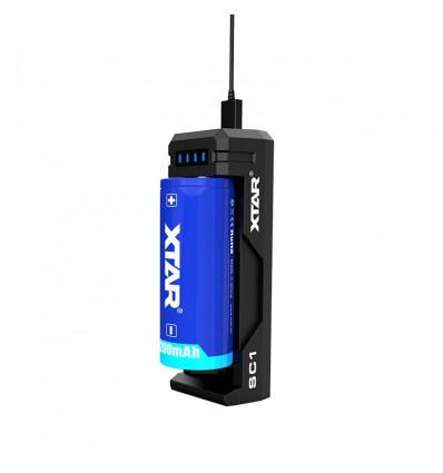 Зарядное устройство Li-Ion Xtar SC1 18650 для Li-ion аккумуляторов