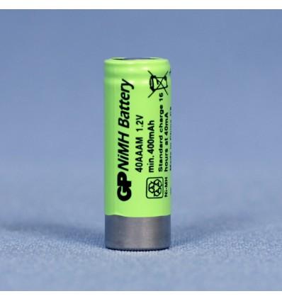 Аккумулятор GP 2/3 AAA NiMH 1,2V 400 mAh