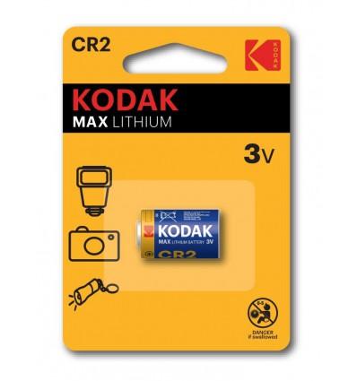 Батарейка литиевая KODAK Max Lithium CR2