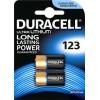 Батарейка литиевая Duracell CR123 3V (2 шт.)