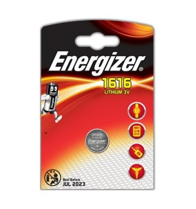 Батарейка литиевая Energizer CR1616