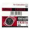 Батарейка литиевая Maxell CR2016