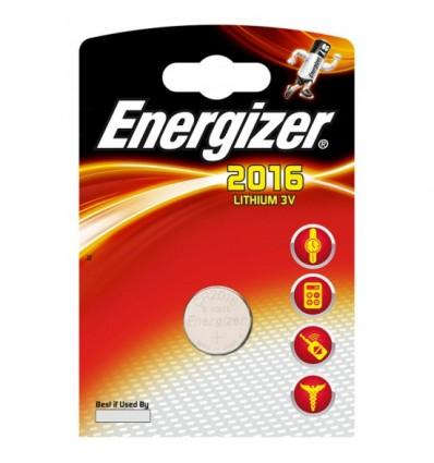 Батарейка литиевая Energizer CR2016