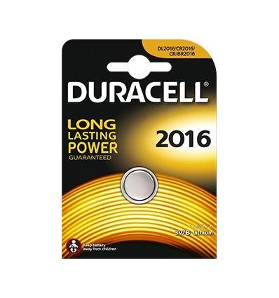 Батарейка литиевая Duracell CR2016