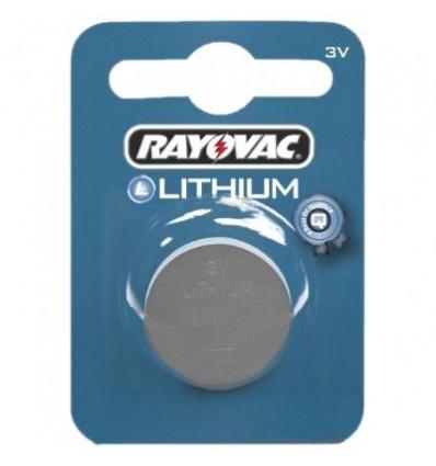 Батарейка литиевая Rayovac CR2016