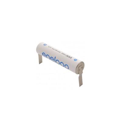 Аккумулятор Panasonic Eneloop R03/AAA 800mAh Ni-MH BK-4MCCEE с контактами