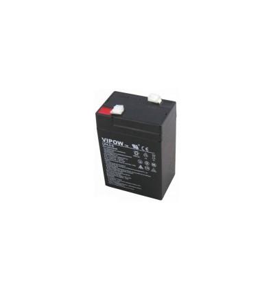 Аккумулятор свинцово-кислотный AGM Vipow 6V 4,5Ah