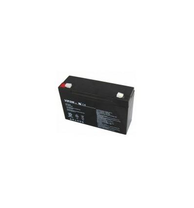 Аккумулятор свинцово-кислотный AGM Vipow 6V 12Ah