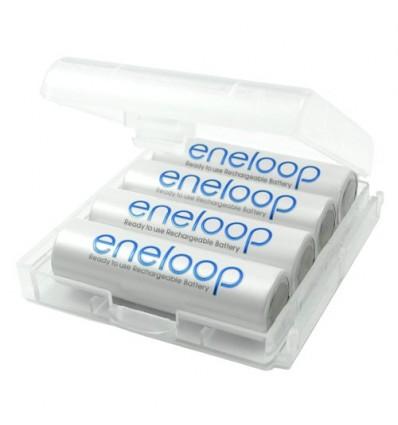 Аккумуляторы 4 X Panasonic Eneloop R6 AA 2000mAh BK-3MCCE/4T (Box)