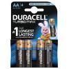 Батарейки Duracell Duralock Turbo Max LR6 AA (Blister)
