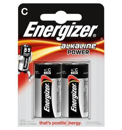 Батарейки Energizer Alkaline Power LR14/C (Blister)