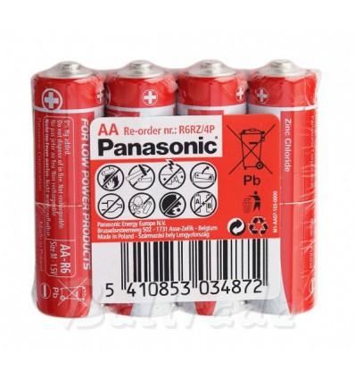 Батарейки Panasonic R6 AA (Taca)