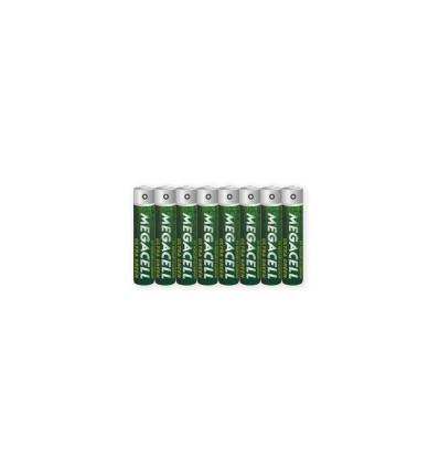 Батарейки 8 X Megacell Ultra Green R03/AAA