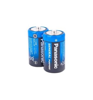Батарейки 2 x Panasonic General Purpose R20/D