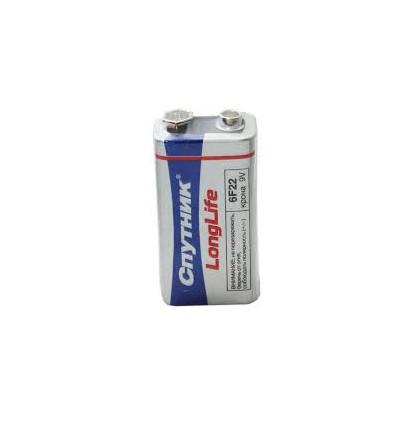 Батарея Спутник LongLife 6F22 9V