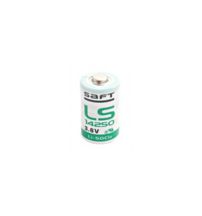 Батарейка литиевая SAFT LS14250 1/2AA 3,6V LiSOCl2 1/2 AA