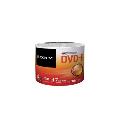 Диск SONY DVD-R 4,7GB 16X SP50