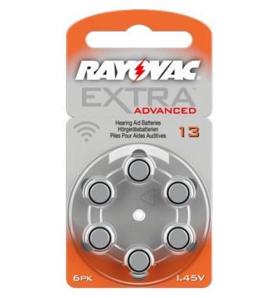 Батарейки для слуховых аппаратов Rayovac Extra Advanced 13 MF
