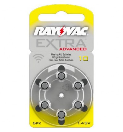Батарейки для слуховых аппаратов Rayovac Extra Advanced 10 MF