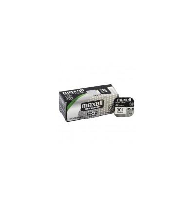 Батарейка Maxell 301 / 386 / SR 43 / 186