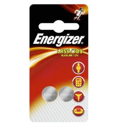 Батарейка Mini Energizer G10 / LR54 / 189, 2 шт.