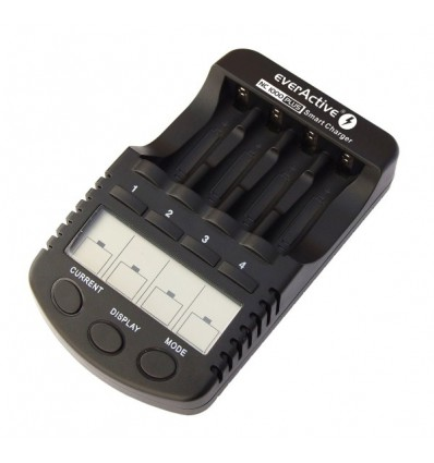 Зарядное устройство EverActive NC-1000 PLUS интеллектуальное