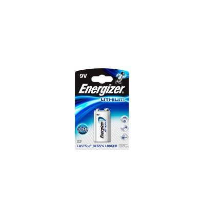 Батарейка литиевая Energizer LA522 Ultimate Lithium LA522/9V 6F22