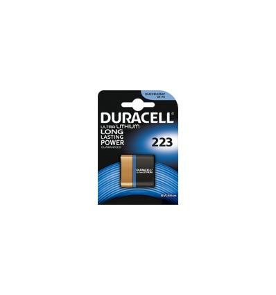 Батарейка литиевая Duracell CRP2 / 223 / DL223 / EL223AP / CR-P2