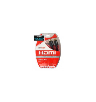 Кабель HDMI (V1.4) Conotech 2m Gold NS-002