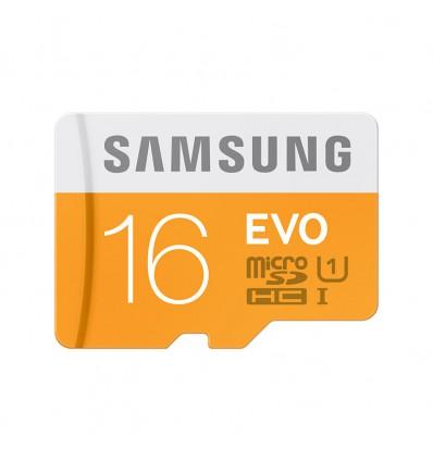 Карта памяти MicroSDHC Samsung EVO 16GB UHS-I Class 10